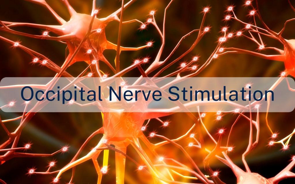 Occipital nerve stimulation